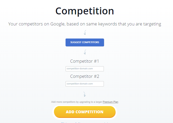 Competition in Monitor Backlink