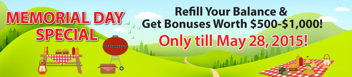 Refill Your Balance & Get SEO Bonus Worth $500-$1,000