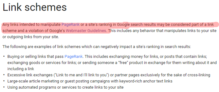 SEO link exchange mechanisms