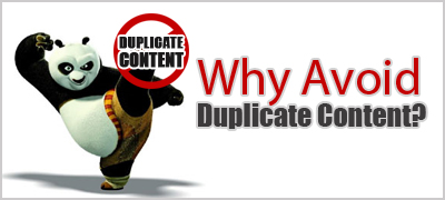 Avoid duplicate content