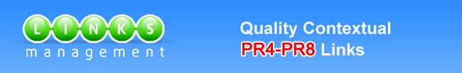 Quality Contextual PR4-PR8 Links