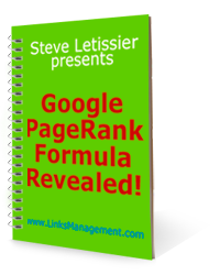 Google PageRank Formula Revealed