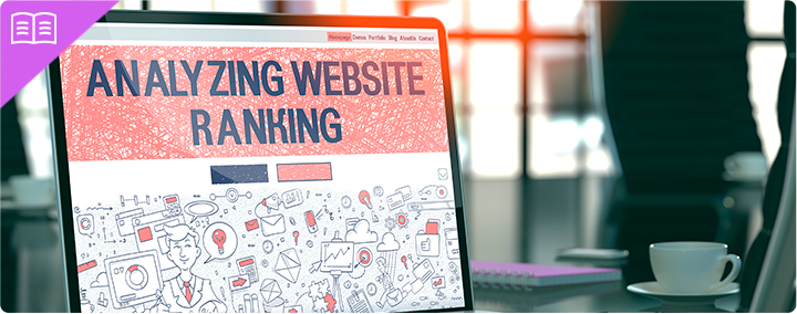 Analyzing website ranking