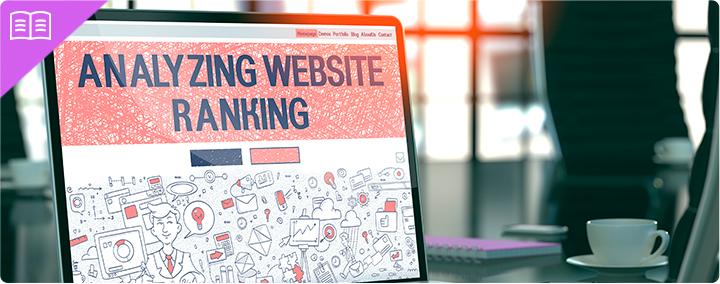 Analyzing website ranking