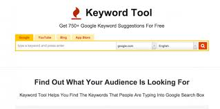 Keywordtool on-page SEO