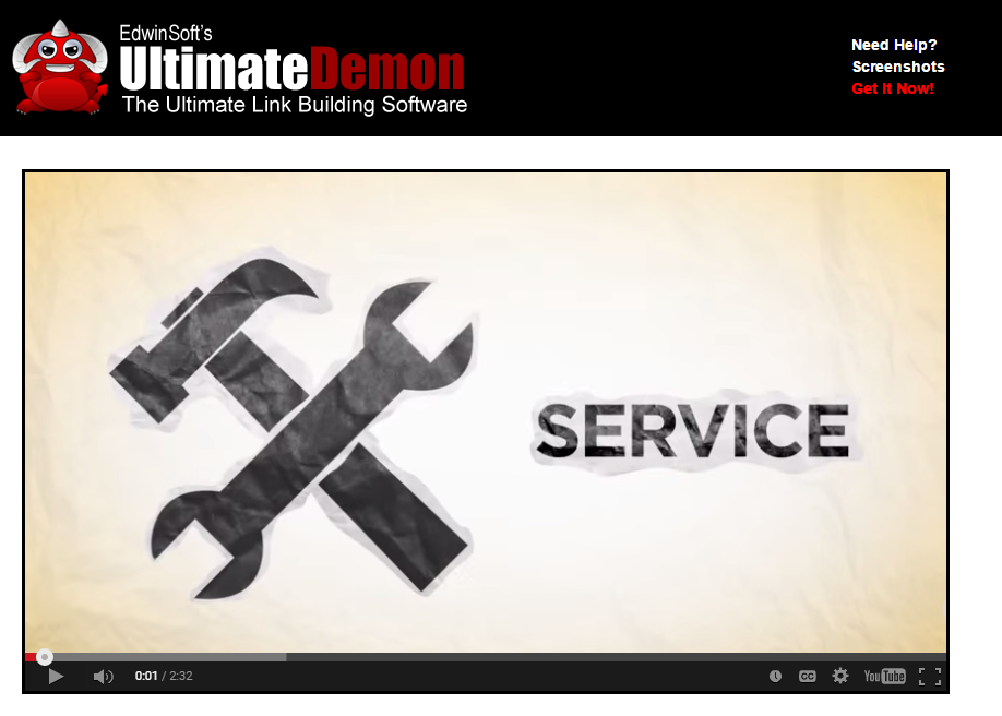 Ultimate Demon Link Building Software