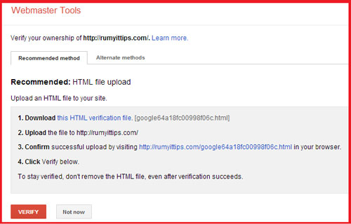 Overview of Google Webmaster Tool