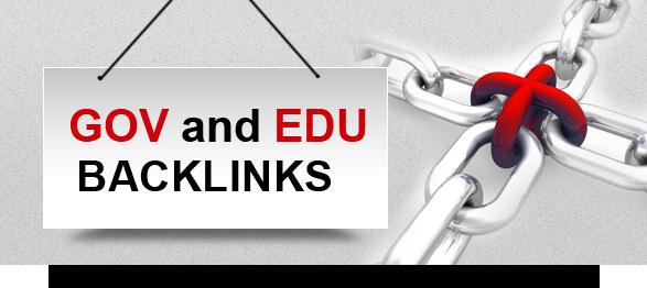 .gov and .edu backlinks
