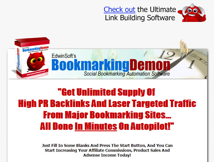 Bookmarking Demon tool