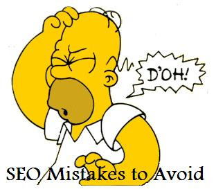 Common SEO-mistakes while on-page optimization