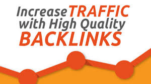 Traffic increase with high quality backlinks