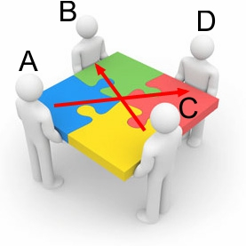 Link exchange scheme