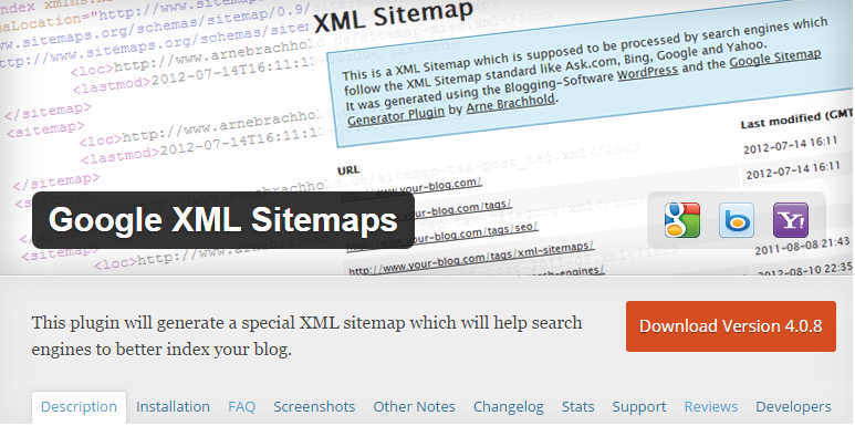 Google XML Sitemaps for WordPress