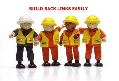 Build backlinks easily