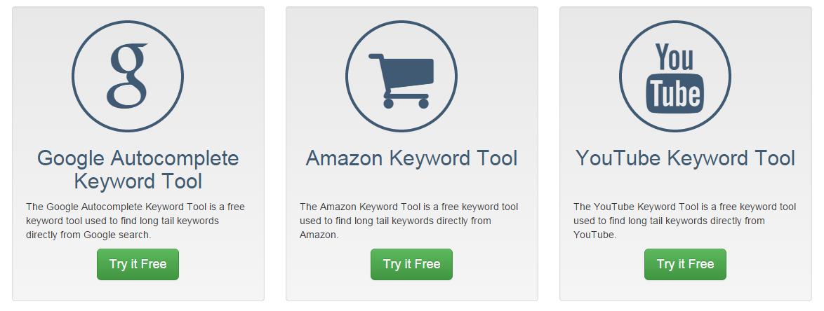Keyword Tool Dominator for keywords research