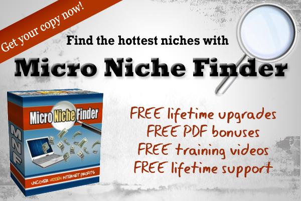 Micro Niche Finder