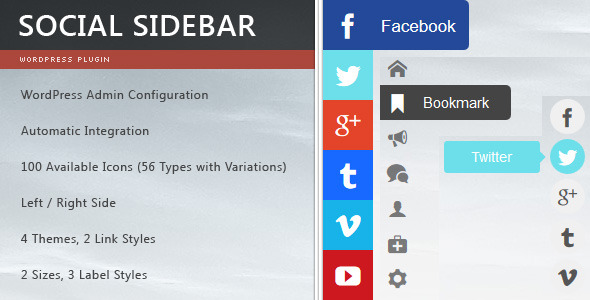WordPress CMS - plugins for social networks