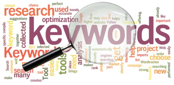 Keyword search frequency tools