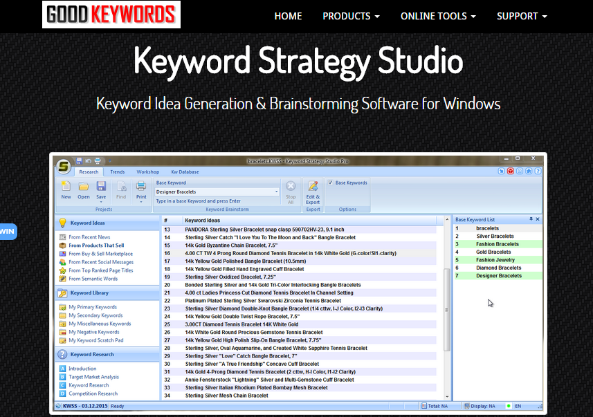 Keyword Strategy Studio