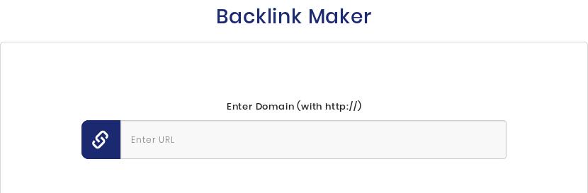 Backlink Generator SEO backlink maker tool for link building