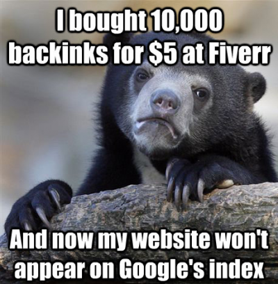 Optimal number of backlinks