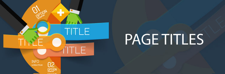 Titles for beginners in SEO
