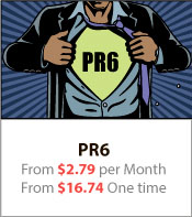PR6 From $2.79 per Month From $16.74 One time