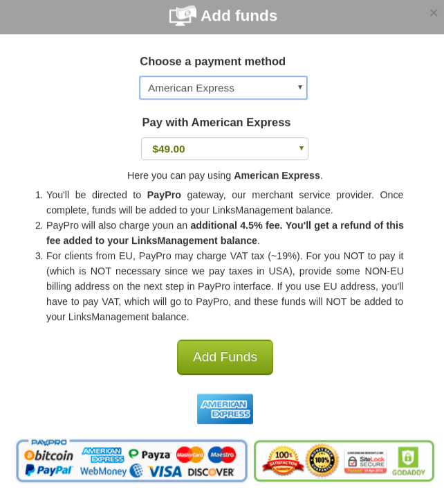 Payments with American Express