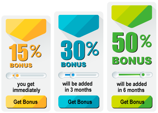 Get your bonuses