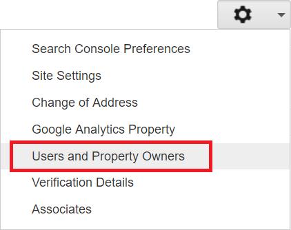 Google Search Console Permissions