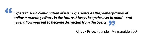 Chuck Price about user experience