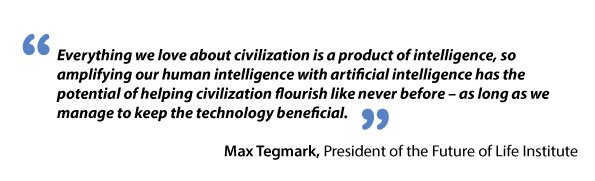 Max Tegmark on artificial intelligence