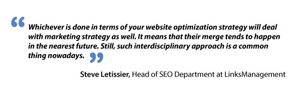 Steve Letissier about interdisciplinary approach to SEO