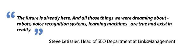 Steve Letissier about voice recognition