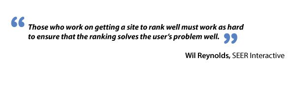 Wil Reynolds and solving of user's problems