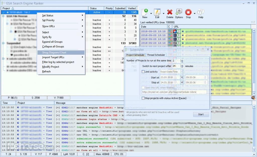 GSA search engine ranker