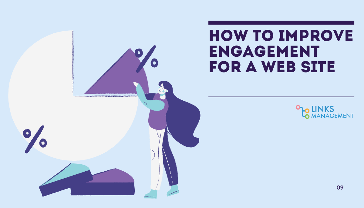 Improve Engagement for a Web Site