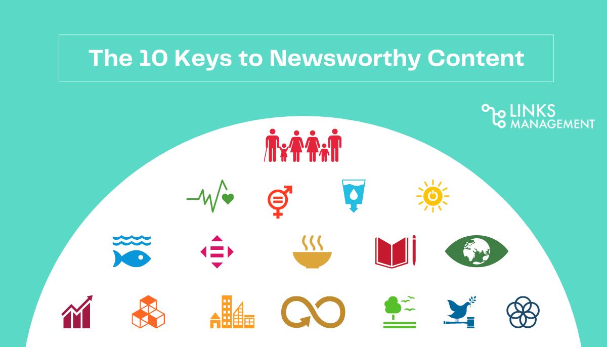 Keys to Newsworthy Content